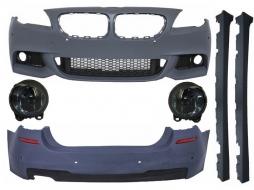 Pachet Complet cu Proiectoare Ceata Fumurii BMW Seria 5 F11 Touring (2010-2014) M Design - COCBBMF11MTFL