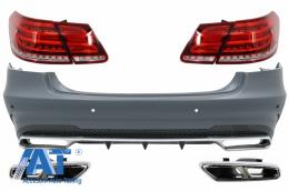 Pachet Converesie Spate compatibil cu MERCEDES E-Class W212 (2009-2012) la Facelift E63 Design - CORBMBW212FAMGT5