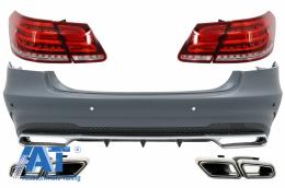 Pachet Converesie Spate compatibil cu MERCEDES E-Class W212 (2009-2012) la Facelift E63 Design - CORBMBW212FAMGT3