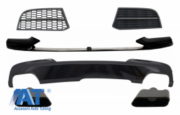 Pachet Conversie compatibil cu BMW Seria 5 F10 F11 Sedan Touring (2011-2017) de la M-Tech la M-Performance Sport M550 Design - COCBSBMF105508511B