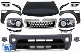 Pachet conversie fata compatibil cu Land Range Rover Sport (2005-2013) L320 Autobiography Design - COFBRRSAHLHDG