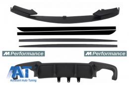 Pachet Conversie la M-Performance compatibil cu BMW Seria 5 F10 F11 (2011-2014) - COCBSBMF10MPDOMB