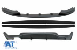Pachet Conversie M Performance Design Difuzor De Aer Cu Prelungire Bara si Praguri compatibil cu BMW F32 F33 F36 4 Series (2013-2019)