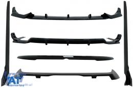 Pachet Exterior Aero compatibil cu BMW X7 G07 (2018-up) M-Tech Black Knight Design Negru Lucios - CBBMG07MPB