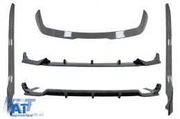 Pachet Exterior Aero compatibil cu BMW X7 G07 (2018-up) M-Tech Black Knight Design Carbon Look - CBBMG07MPCF
