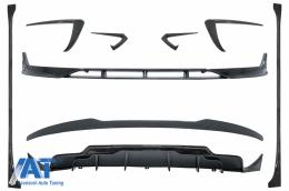 Pachet Exterior Aerodinamic compatibil cu Tesla Model 3 (2017-) Carbon Look - CBTSLM3CF