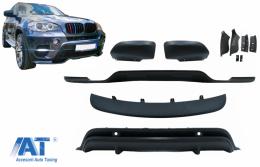 Pachet Exterior Aerodinamik compatibil cu BMW X5 E70 LCI (2011-2014) - BKBM01