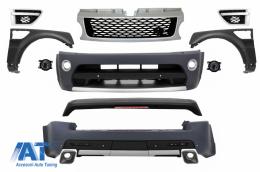 Pachet Exterior Autobiography Design compatibil cu ROVER Sport Facelift 2005-2013 L320 cu Aripi Laterale - COCBRRSFLFFS