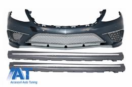Pachet exterior Bara Fata cu Praguri Laterale compatibil cu MERCEDES S-Class W222 (2013-06.2017) S65 Design - COFBMBW222AMGS65SS
