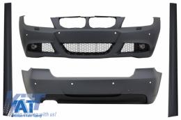 Pachet Exterior BMW 3 series E90 LCI (2008-2011) M-Technik Design - CBBME90LCIMT