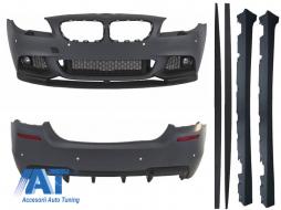 Pachet Exterior BMW F10 Seria 5 (2011-2014) M-Performance Design - CBBMF10MPD