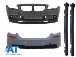 Pachet Exterior BMW F10 Seria 5 (2011-2014) M-Performance Design - CBBMF10MPTH