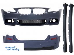 Pachet Exterior BMW F10 Seria 5 (2014-up) Facelift M-Technik Design - COCBBMF10MTLCIWF