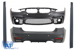 Pachet Exterior BMW F30 (2011-up) EVO II M3 Design Fara Proiectoare - CBBMF30EVO