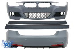 Pachet Exterior BMW Seria 3 F30 (2011-) M-Technik Design - COCBBMF30MTC