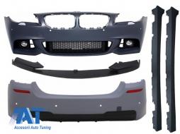 Pachet Exterior BMW Seria 5 F10 LCI (2015+) M-Performance Design with LED Fog Lights - COCBBMF10MPTHLCI