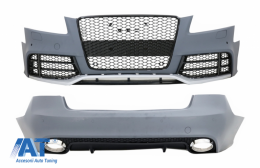Pachet Exterior compatibil cu AUDI A5 8T Pre Facelift Coupe / Cabrio (2008-2011) RS5 Design