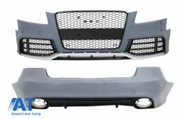 Pachet Exterior compatibil cu AUDI A5 8T Pre Facelift Coupe / Cabrio (2008-2011) RS5 Design - COFBAUA58TRSDRBTC