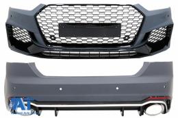 Pachet Exterior compatibil cu AUDI A5 F5 (2017-) Quattro RS5 Design - COCBAUA5F5RS
