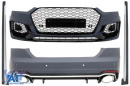 Pachet Exterior compatibil cu AUDI A5 F5 Sportback (2017-) Quattro RS5 Design - COCBAUA5F5RSS