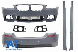 Pachet Exterior compatibil cu BMW F10 Seria 5 (2014-2017) Facelift M-Technik Design