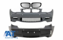 Pachet Exterior compatibil cu BMW Seria 1 E81 E82 E87 E88 (2004-2011) 1M Design Tuburi Ventilatie Incluse si PDC - COFBBME87M1WOGRB