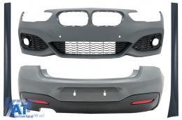 Pachet Exterior compatibil cu BMW Seria 1 F20 LCI (2015-2018) M-Technik Design
