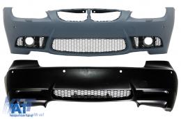 Pachet exterior compatibil cu BMW Seria 3 E92 E93 Coupe Cabrio M3 Design - COCBBME92M3PWF