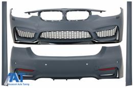 Pachet Exterior compatibil cu BMW Seria 3 F30 (2011-2019) M3 CS Look Fara Proiectoare - CBBMF30M4