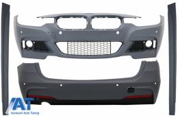 Pachet Exterior compatibil cu BMW Seria 3 F31 (2011-2019) Touring M-Technik Design - CBBMF31MTWOF