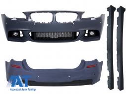 Pachet Exterior compatibil cu BMW Seria 5 F10 LCI (2014-2017) Facelift M-Technik Design