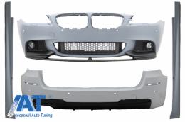 Pachet Exterior compatibil cu BMW Seria 5 F11 Touring (2010-2013) M-Performance Design - CBBMF11MPTH