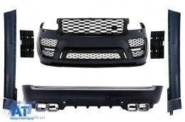 Pachet Exterior Compatibil cu Land Range Rover Vogue IV L405 SWB (2018-Up) SVO Look - CBRRVL405SVO