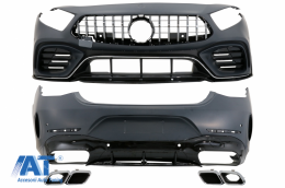Pachet Exterior compatibil cu Mercedes CLS-Class C257 Sedan (2018-Up) - CBMBC257AMG