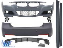 Pachet Exterior Complet BMW Seria 3 F30 2011-up M-Technik Design - COCBBMF30MTB