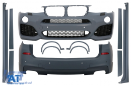 Pachet Exterior Complet BMW X3 F25 2014-up M-Design - CBBMF25M