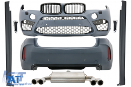 Pachet Exterior Complet BMW X6 F16 (2015-up) X6M Design - CBBMF16X6M