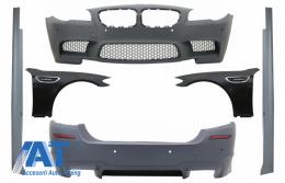 Pachet Exterior Complet compatibil cu BMW F10 (2011-2014) M5 Design