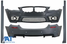 Pachet Exterior Complet compatibil cu BMW Seria 5 F10 LCI (2015-2017) M5 Design - CBBMF10M5LCI