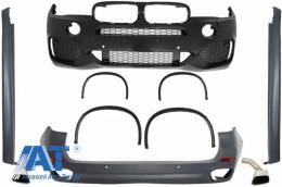 Pachet Exterior Complet compatibil cu BMW X5 F15 (2013-2018) X5 M Sport Design - CBBMF15X5MS