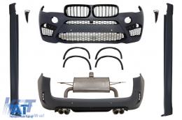 Pachet Exterior Complet compatibil cu BMW X5 F15 (2013-2018) X5 M Design X5M - CBBMF15X5M