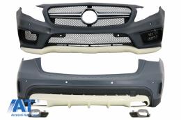 Pachet Exterior Complet compatibil cu Mercedes GLA X156 (2014-2016) - CBMBX156AMG