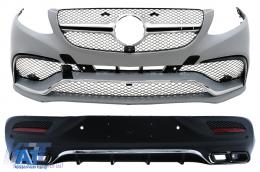 Pachet Exterior Complet compatibil cu MERCEDES Benz GLE Coupe C292 (2015-up) - CBMBGLEC292BCB