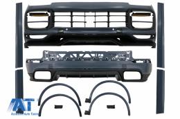 Pachet Exterior Complet compatibil cu Porsche Cayenne 9Y0 (2018-Up) Conversie la Turbo sau Aero Design - CBPOCY4