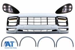 Pachet Exterior Complet compatibil cu Porsche Cayenne 92A (2011-2013) Conversie la 9Y0 Look - CBPOCY1