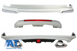 Pachet Exterior Complet compatibil cu TOYOTA Land Cruiser FJ200 (2015-up) - CBTOLCFJ200
