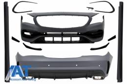 Pachet Exterior Complet cu Mercedes CLA C117 W117 (2013-2018) Facelift CLA45 Design - CBMBW117AMG