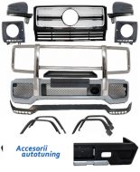 Pachet Exterior Complet Mercedes W463 G-Class (1989-up) G65 AMG Design Crom - COCBMBW463AMGC