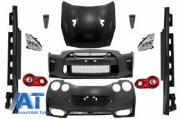 Pachet Exterior Complet Nissan GT-R (2008-2017) Facelift 2017 Design - CBNIGTR
