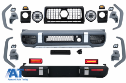 Pachet Exterior de Conversie 2018+ G63 A-Design compatibil cu MERCEDES W463 G-Class (1989-2018) - CBMBW463AMGNL